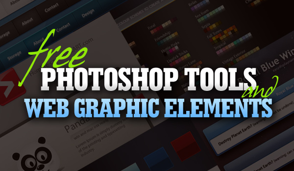 Free Photoshop files and web graphic elements