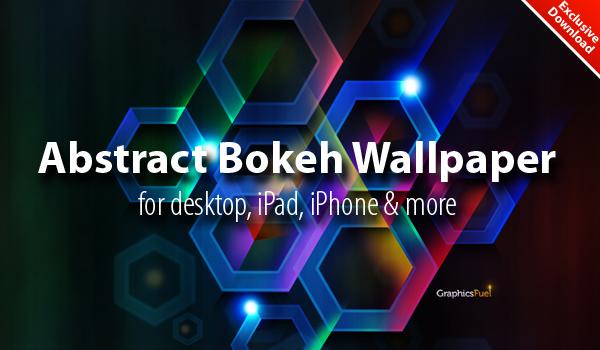 Cool abstract bokeh wallpaper download