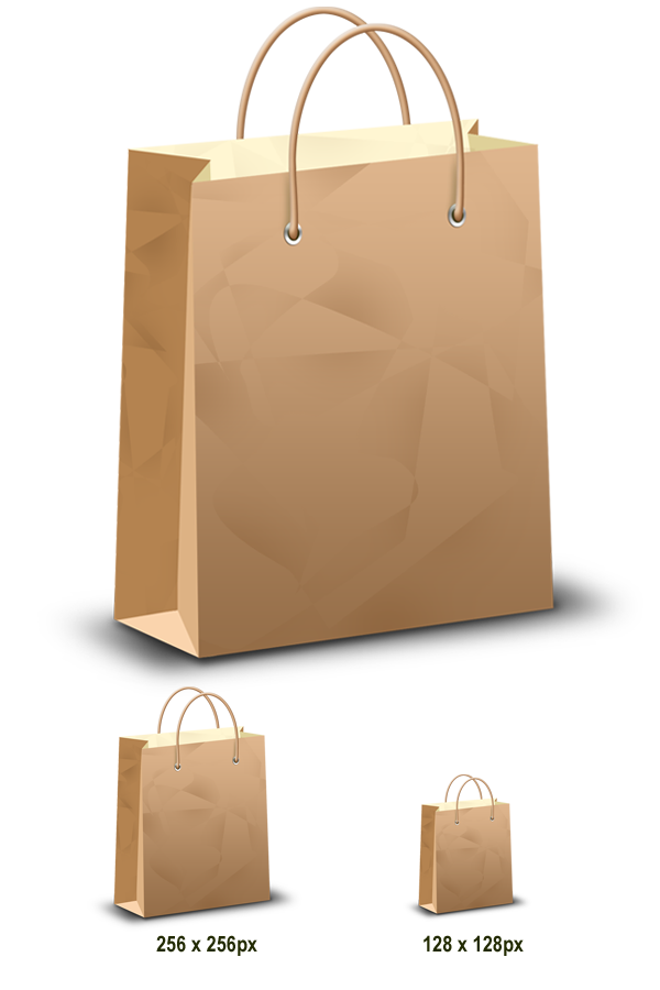 Download shopping bag & icons (PSD & PNG) - GraphicsFuel
