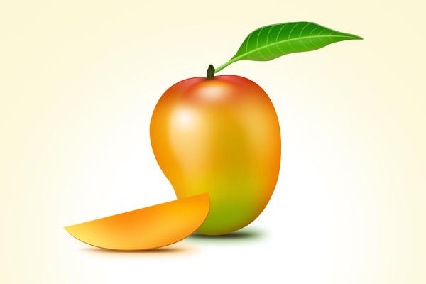 Mango fruit PSD icon