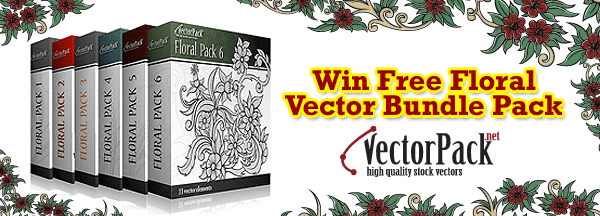 Win a floral bundle Pack from Vectorpack.net