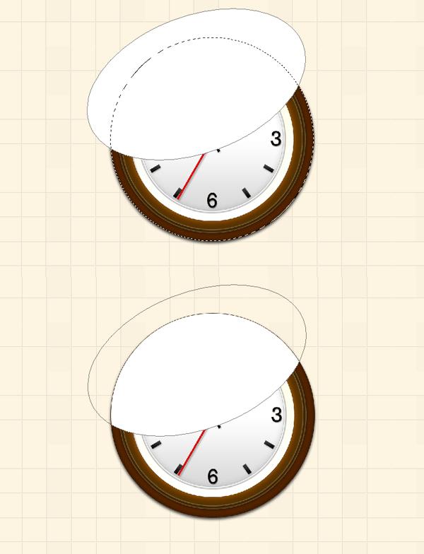 1-درس عمل ساعة حائط احترافية وببساطة