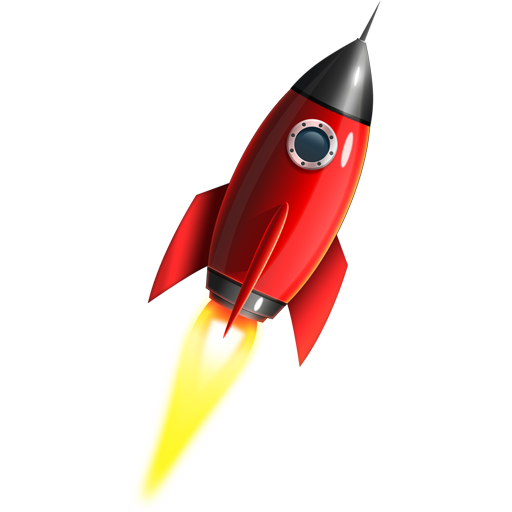 Space Rocket Icon Psd Graphicsfuel