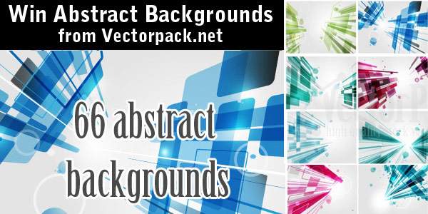 Win 66 Abstract Backgrounds from Vectorpack.net