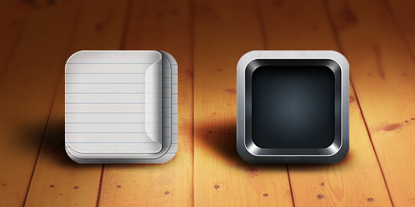 GraphicsFuel.com | Retina-Ready iOS App Icon Templates (PSD)
