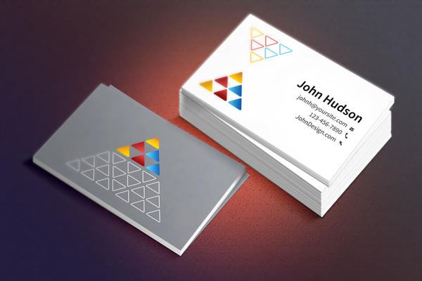 Business Card Template & Mockup (PSD)
