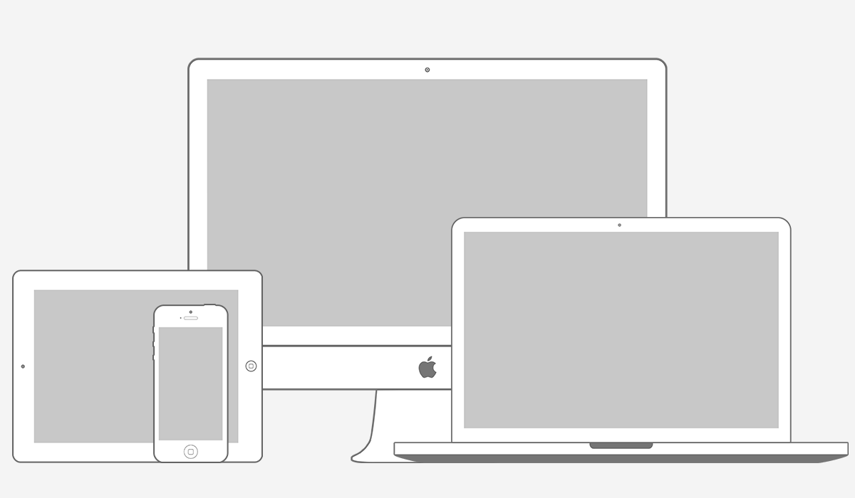 Apple Products Psd on Various Apple Products