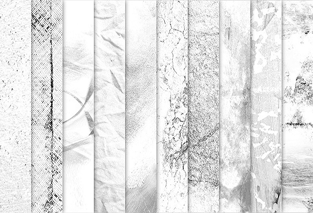 10 Light Grunge Textures