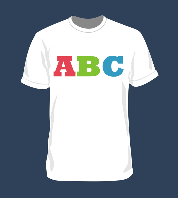 Blank Tshirt Template For Photoshop