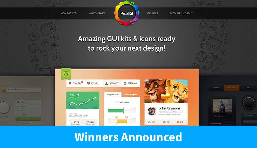 Winners Announced: 3 Annual Membership Subscriptions to PixelKit