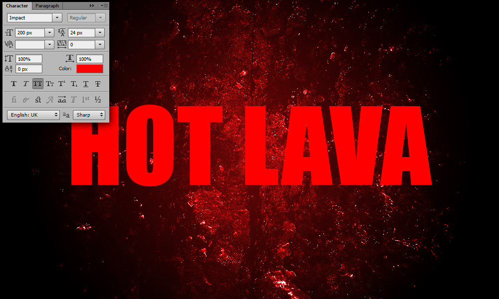 lava-text-effect