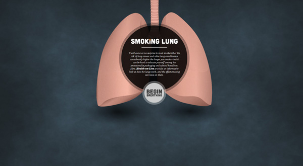 smoking lungs