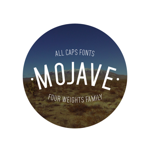 Mojave Typeface