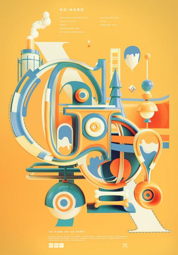 typographic artwork