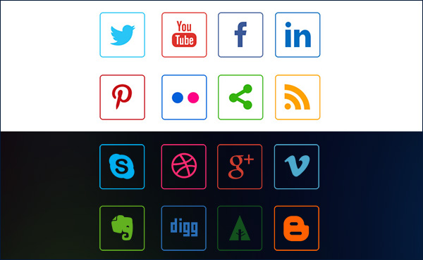 social-media-line-icons-preview