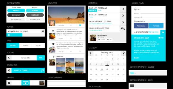 UI-kit-mobile-apps-PSD