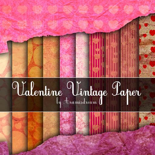 Vintage_Valentine_Paper_by_Aramisdream