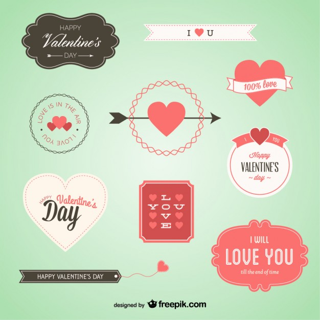 lovely-valentine-s-badges-set