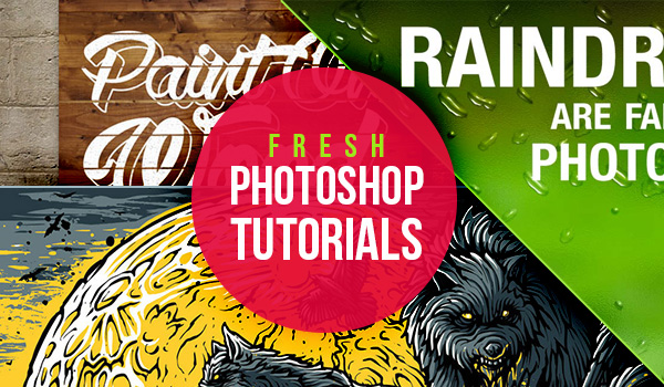 A Collection of 15 Fresh Photoshop Tutorials