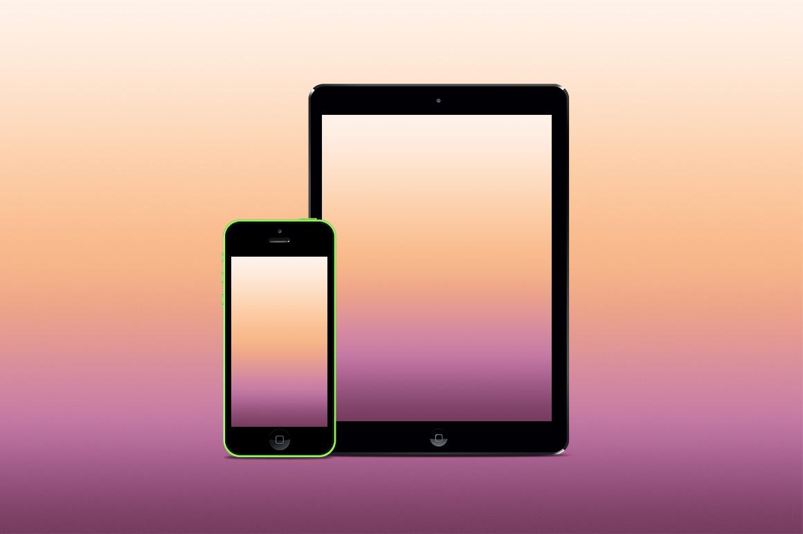 blur-gradient-spring-iphone-ipad