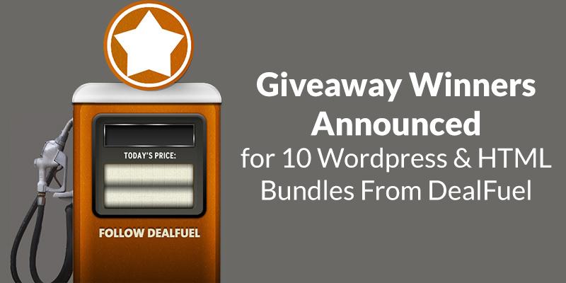 dealfuel-wp-html-bundle-giveaway-winners