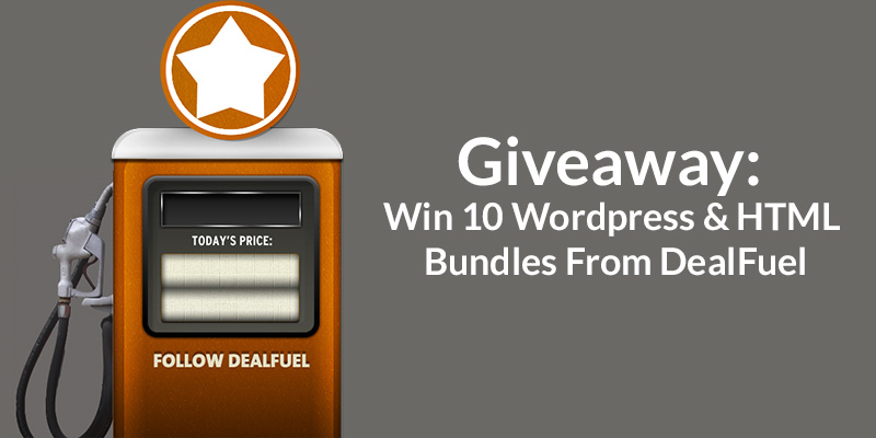 Giveaway: 10 Bundles of HTML & WordPress Templates From DealFuel