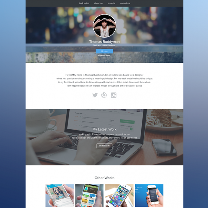 personal-website-portfolio-template