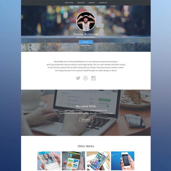 Portfolio Site Examples: 10 Free Website PSD Templates