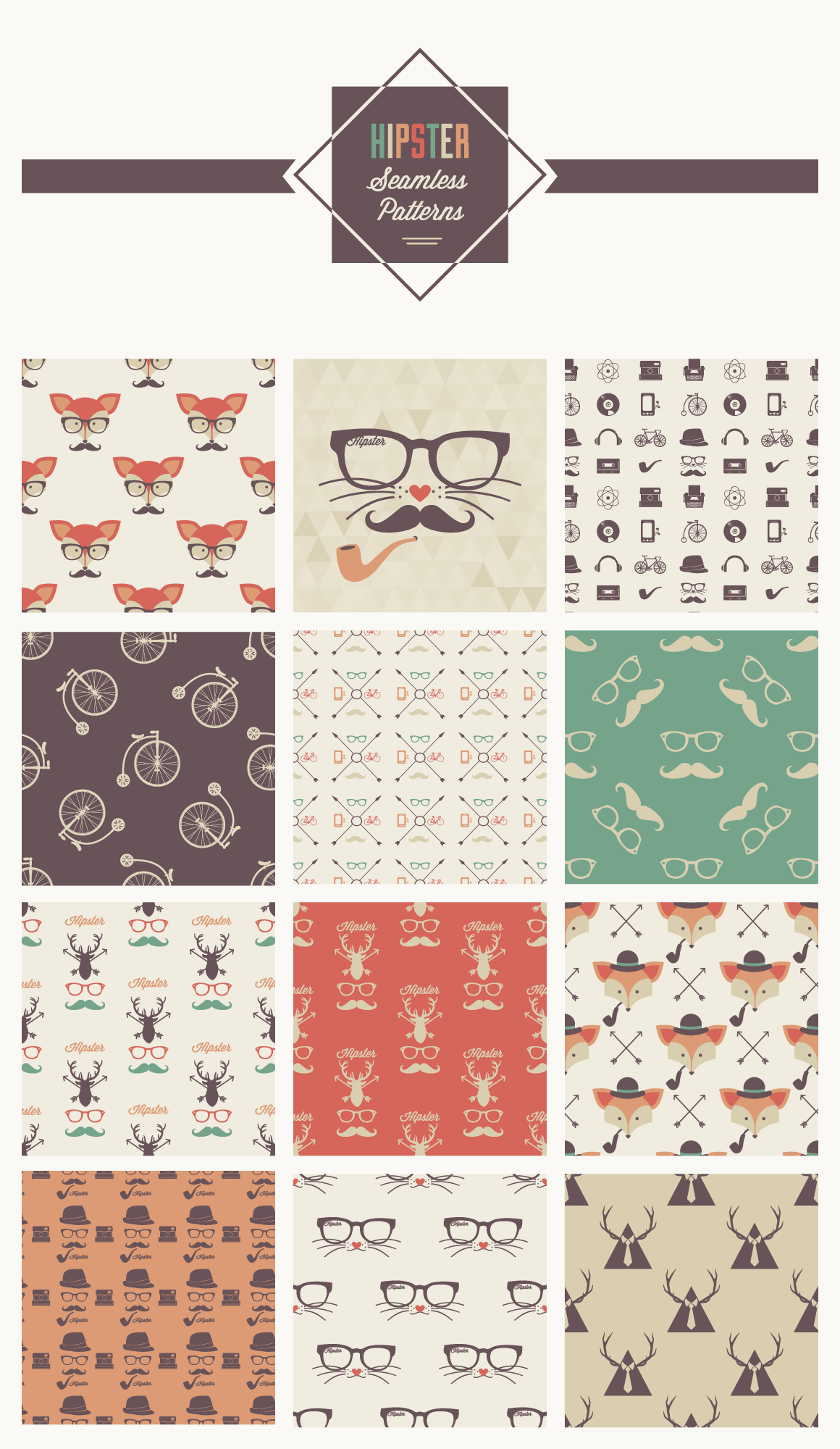 The gallery for --> Hipster Patterns