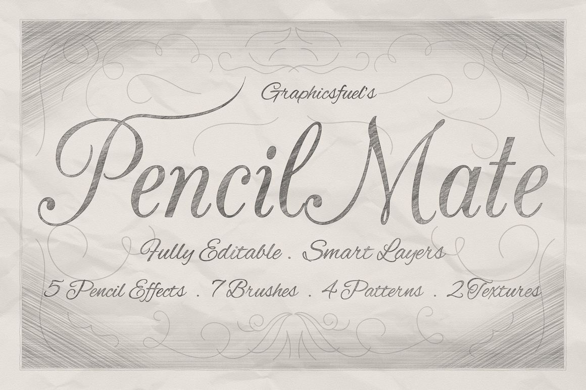 PencilMate – Instant Pencil Effects in Photoshop
