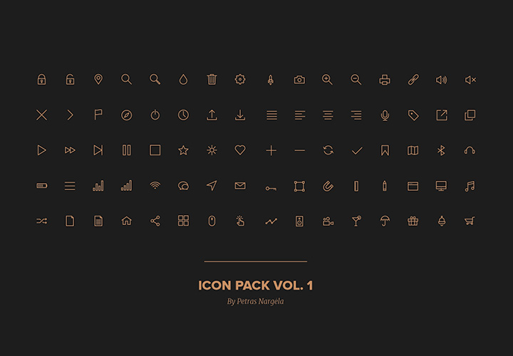 stroke-icon-pack