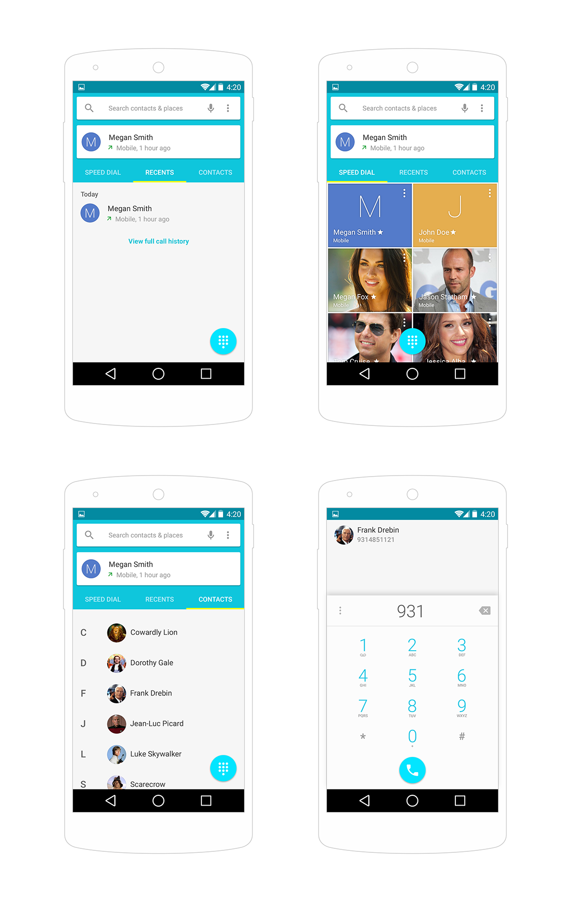 android-contacts-ui-psd