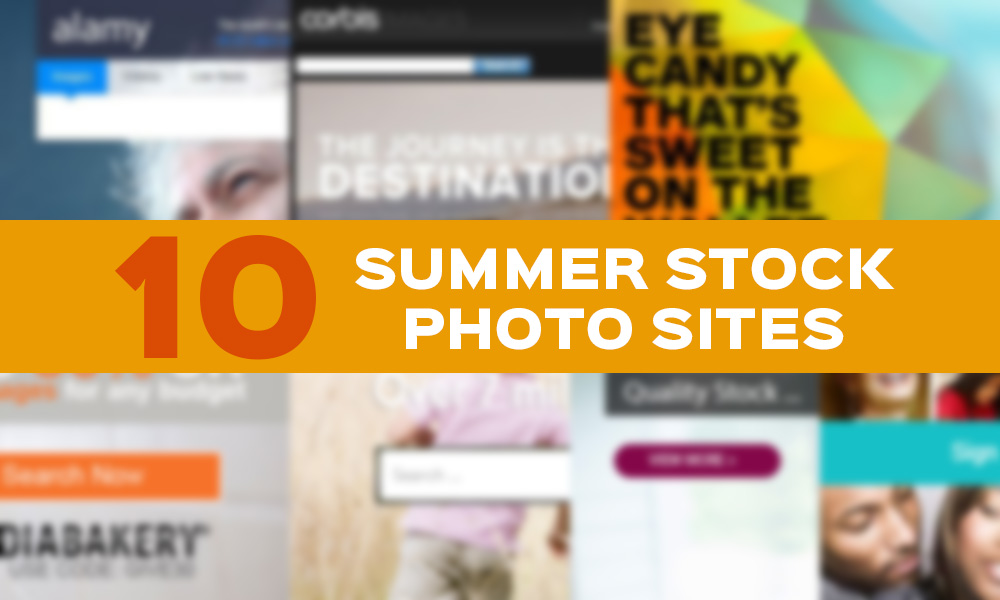 Check Out the Best Summer Stock Photo Sites