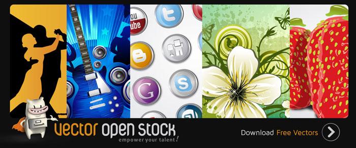 Vector Open Stock