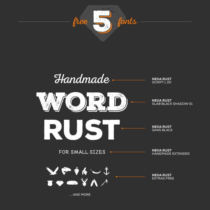 Free Nexa Rust Font 1