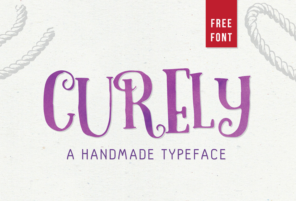 Curely Free Font Download