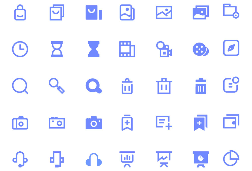 100 Free UI Icons