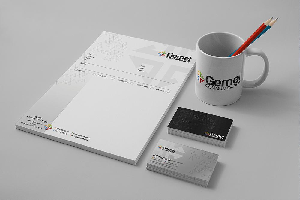 Corporate Branding Identity Mockup 03