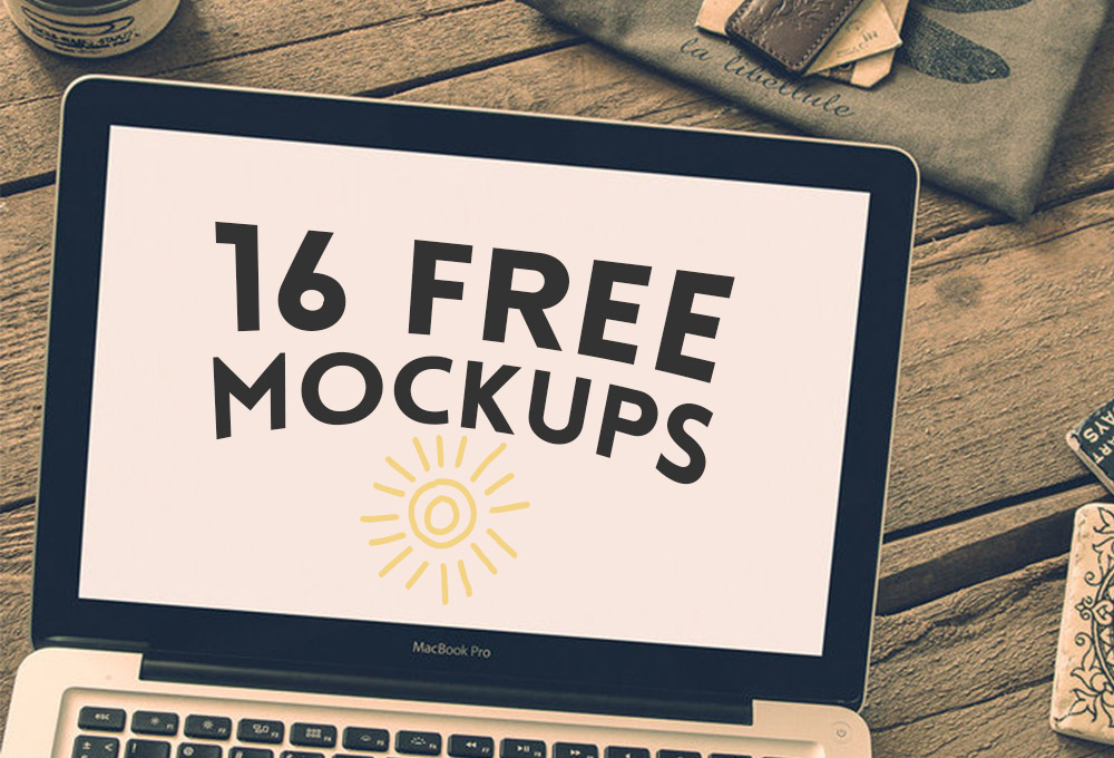 16 Free Hip Mockups Bundle