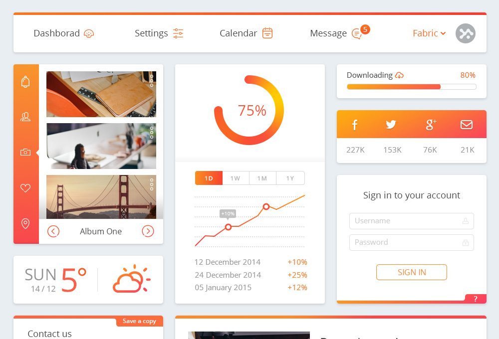 http://www.graphicsfuel.com/wp-content/uploads/2014/12/free-dashboard-ui-kit-featured.jpg