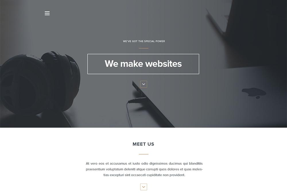 Arcadia: Free HTML Web Template