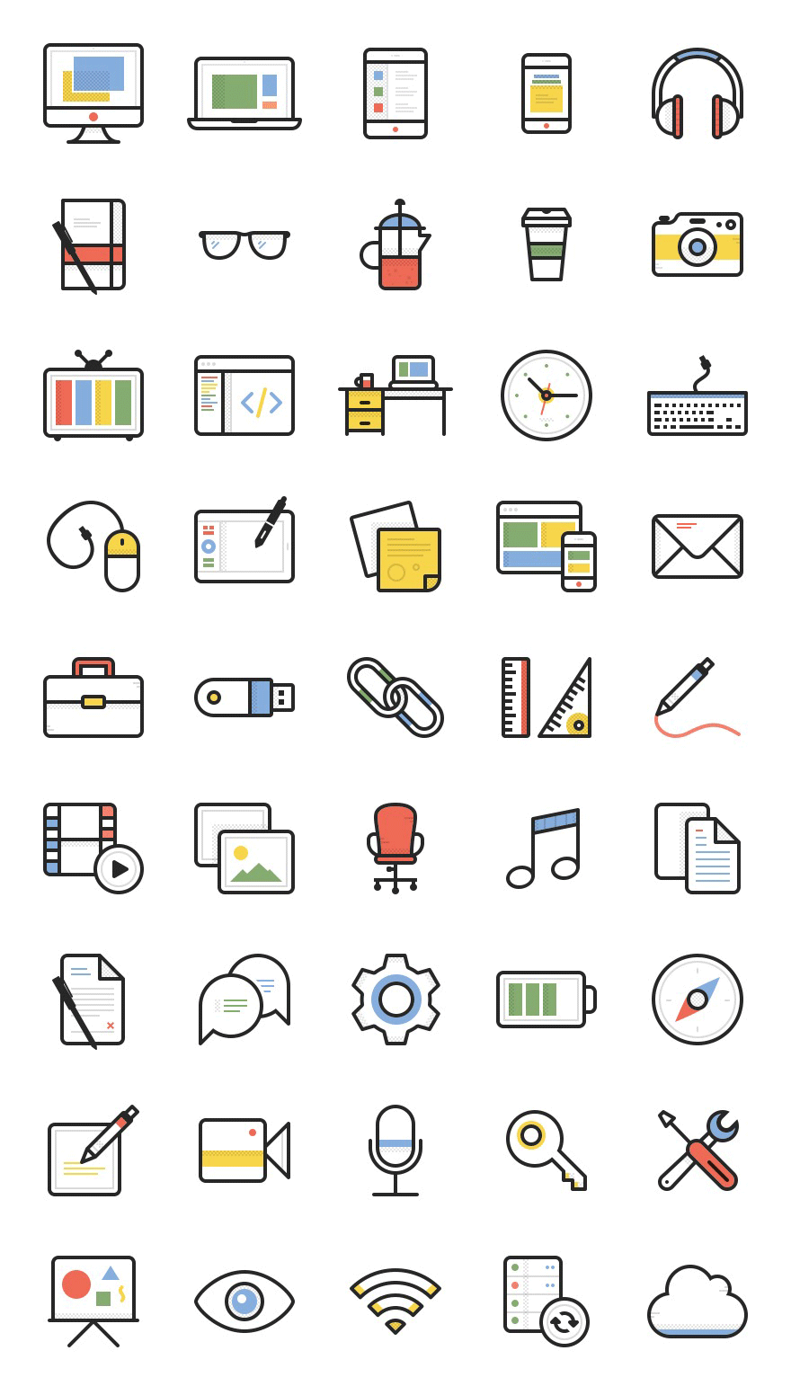 dashel  45 free vector icons