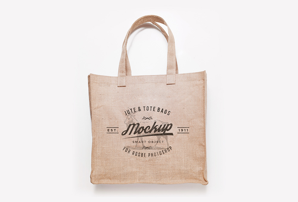 Free Jute And Tote Bag Mockups