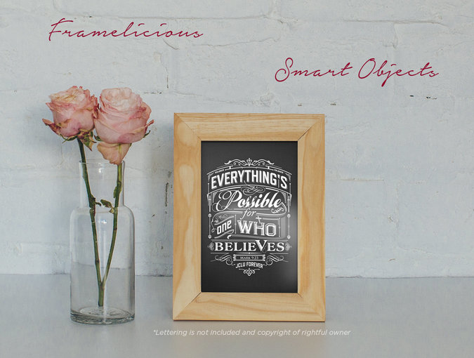 4 Free Real Photo Frame Mockups - GraphicsFuel