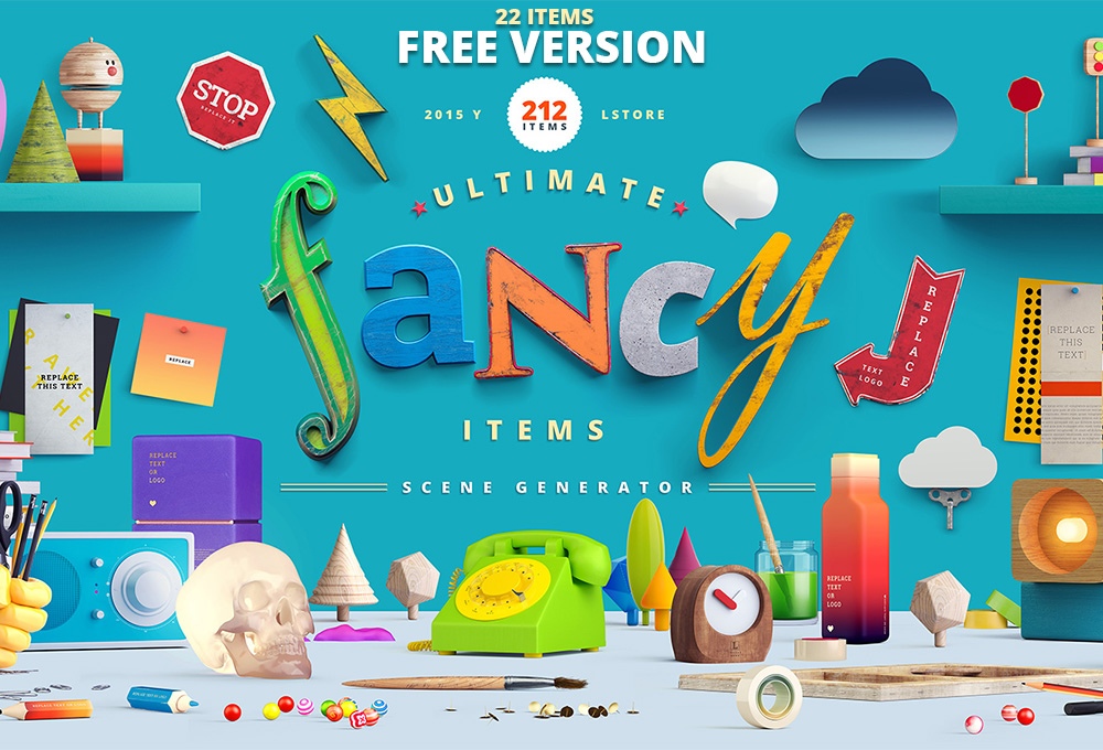 Fancy Scene Generator: Free Version