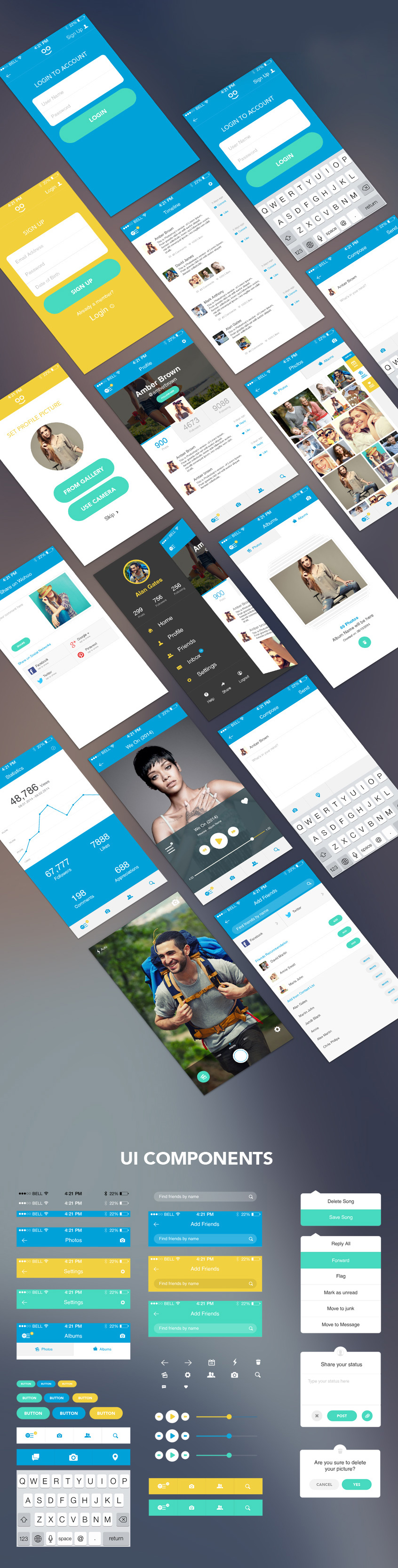 http://www.graphicsfuel.com/wp-content/uploads/2015/04/free-mobile-app-ui-kit-full-view.jpg