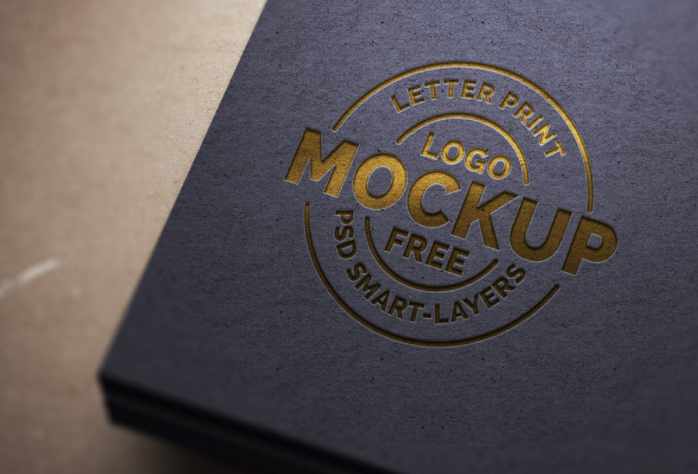 letter-print-logo-mockup-psd