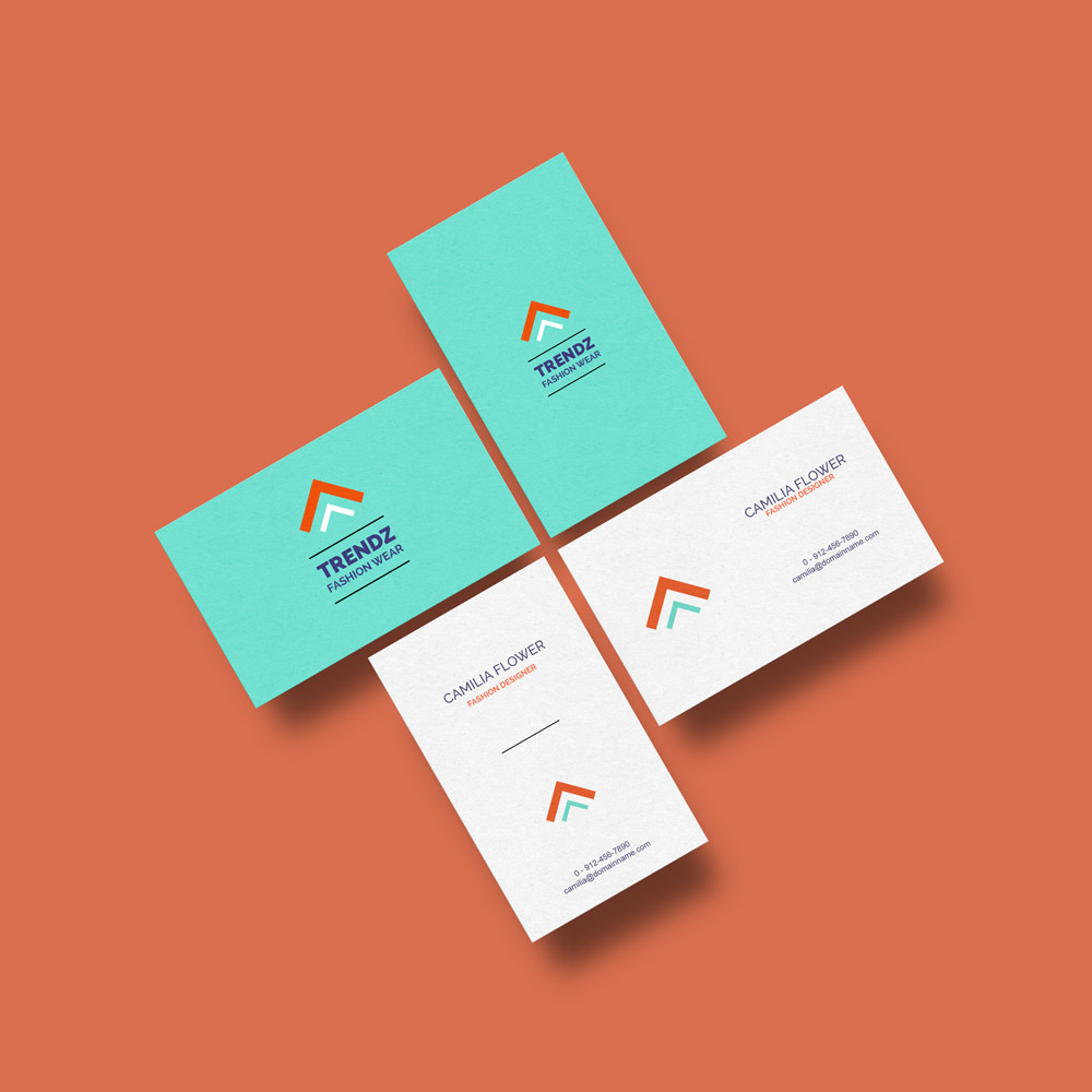 Free Business Cards Mockup GraphicsFuel