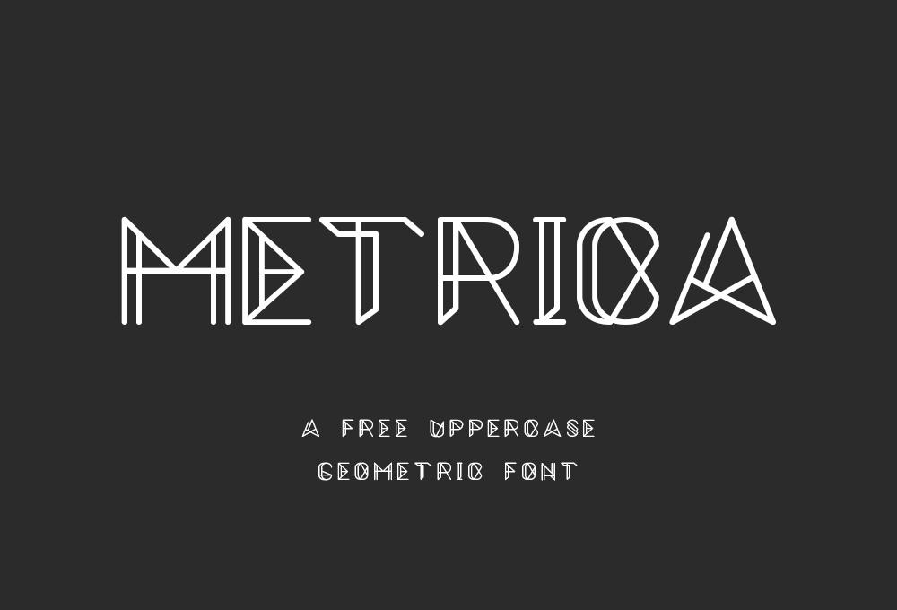 Metrica: Free Font Download