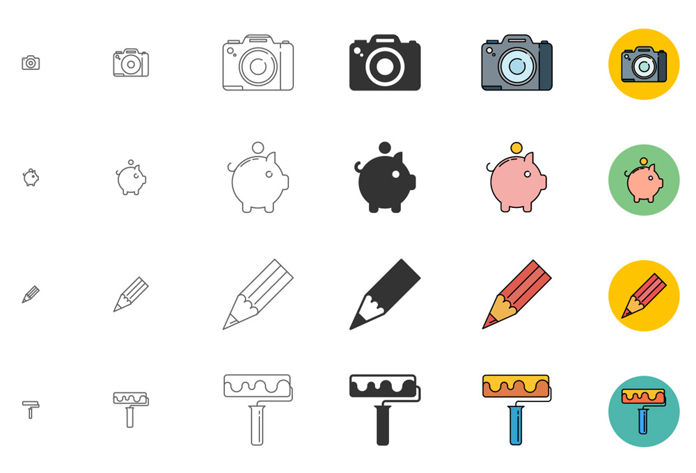 Free Responsive Icons